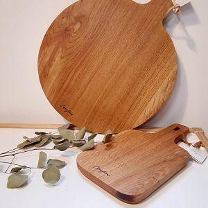 Tablas de madera de roble